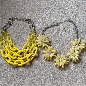 Yellow Necklace BUNDLE